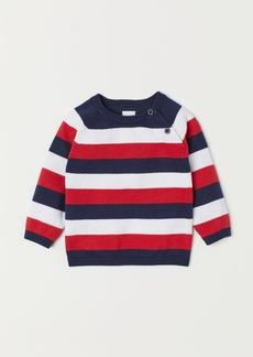 H&M H & M - Fine-knit Sweater - Red