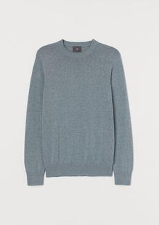 H&M H & M - Fine-knit Sweater - Turquoise
