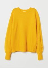 H&M H & M - Fine-knit Sweater - Yellow