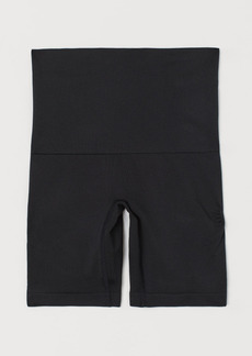 H&M H & M - Firm Shaping Push-up Bikers - Black