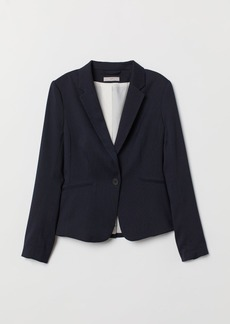 H&M H & M - Fitted Blazer - Blue