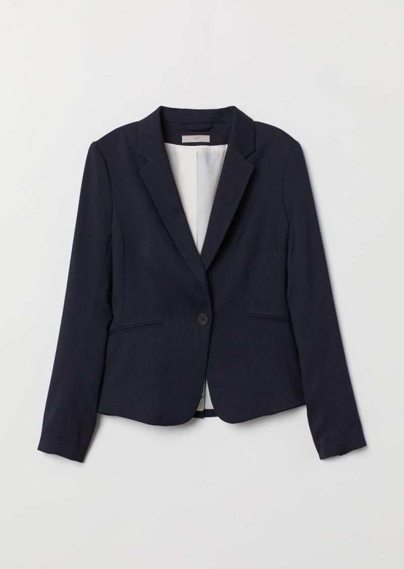 H&M H & M - Fitted Blazer - Blue