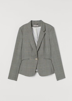 H&M H & M - Fitted Blazer - Gray