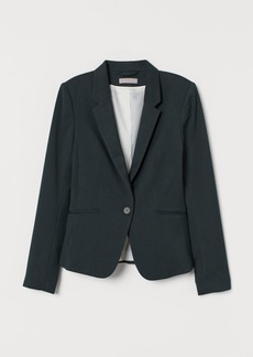 H&M H & M - Fitted Blazer - Green