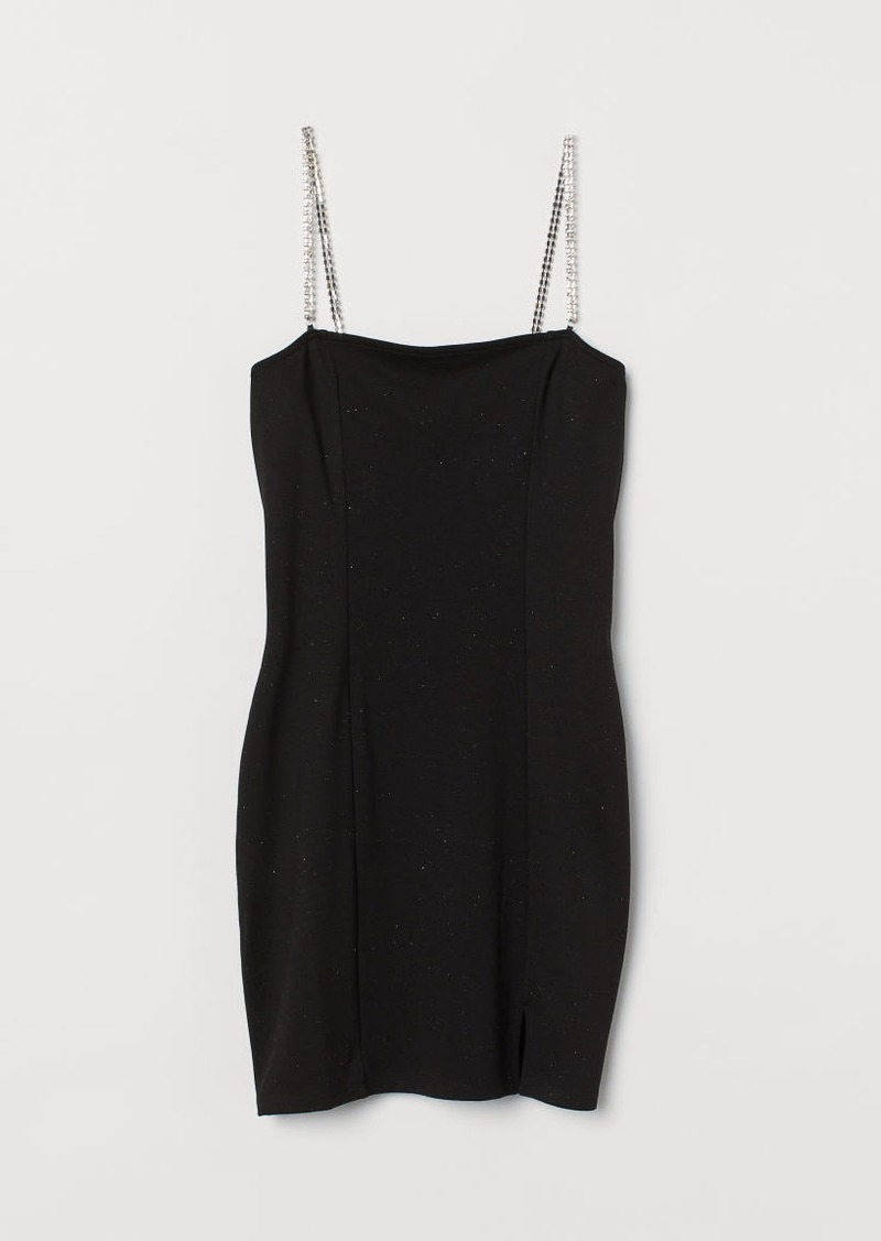 H&M H & M - Fitted Dress - Black