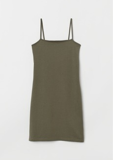 H&M H & M - Fitted Dress - Green