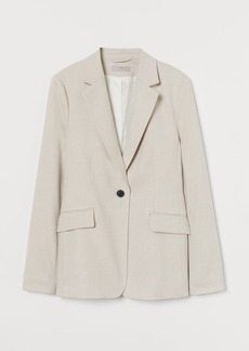 H&M H & M - Fitted Jacket - Beige