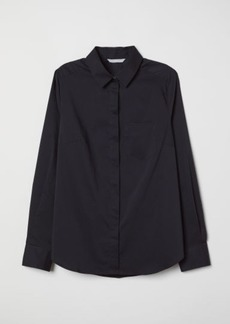 H&M H & M - Fitted Shirt - Black