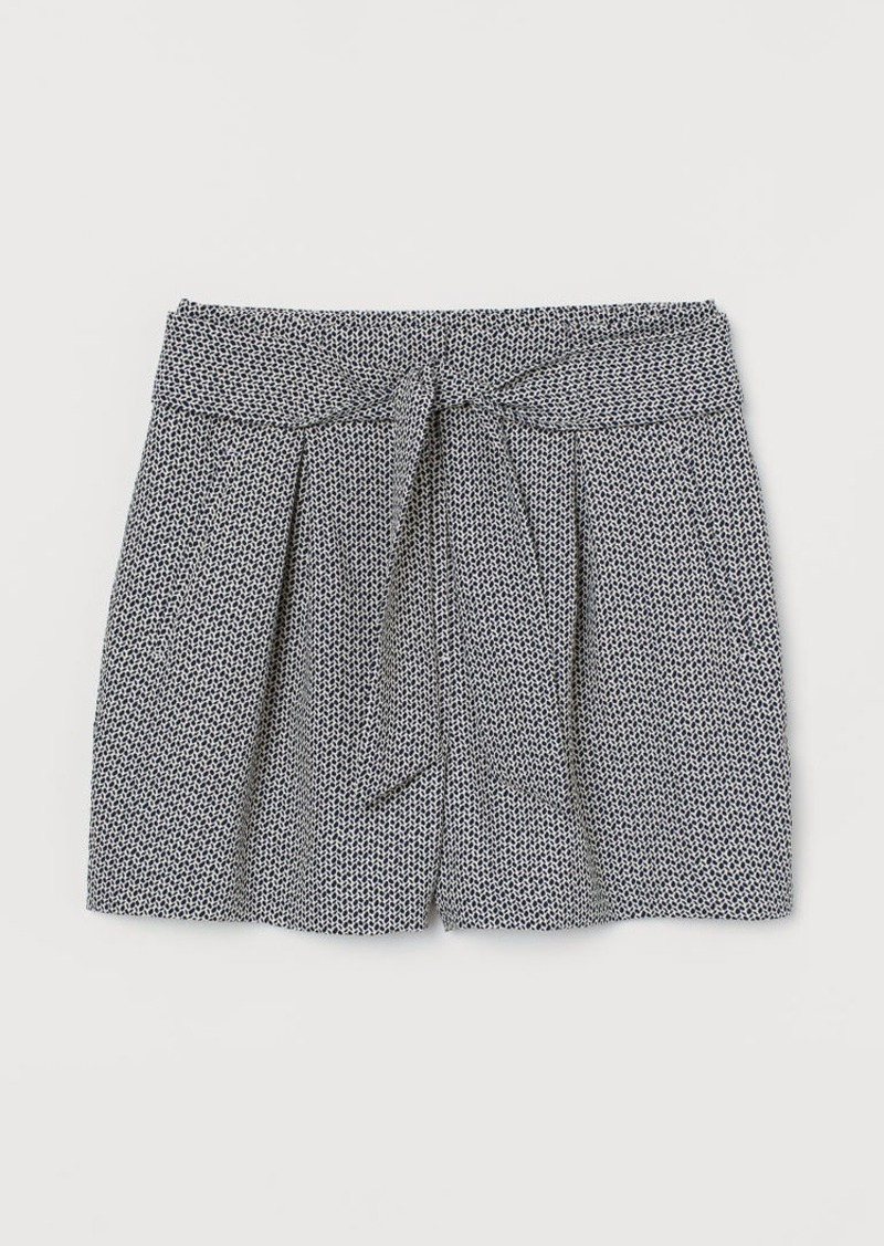 H&M H & M - Fitted Shorts - Beige