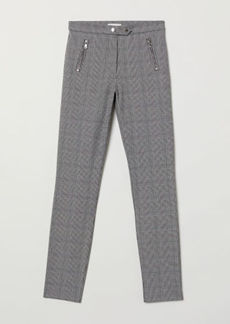 H&M H & M - Fitted Slim-fit Pants - Gray