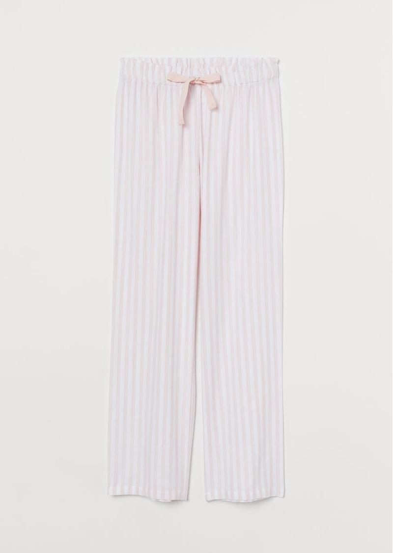 H&M H & M - Flannel Pajama Pants - Pink