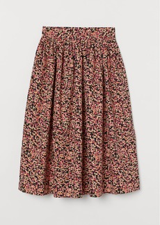 H&M H & M - Flared Skirt - Pink