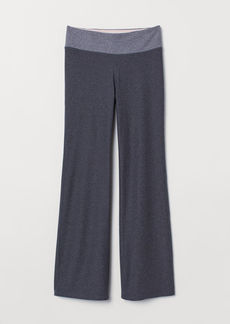 H&M H & M - Flared Sports Leggings - Gray