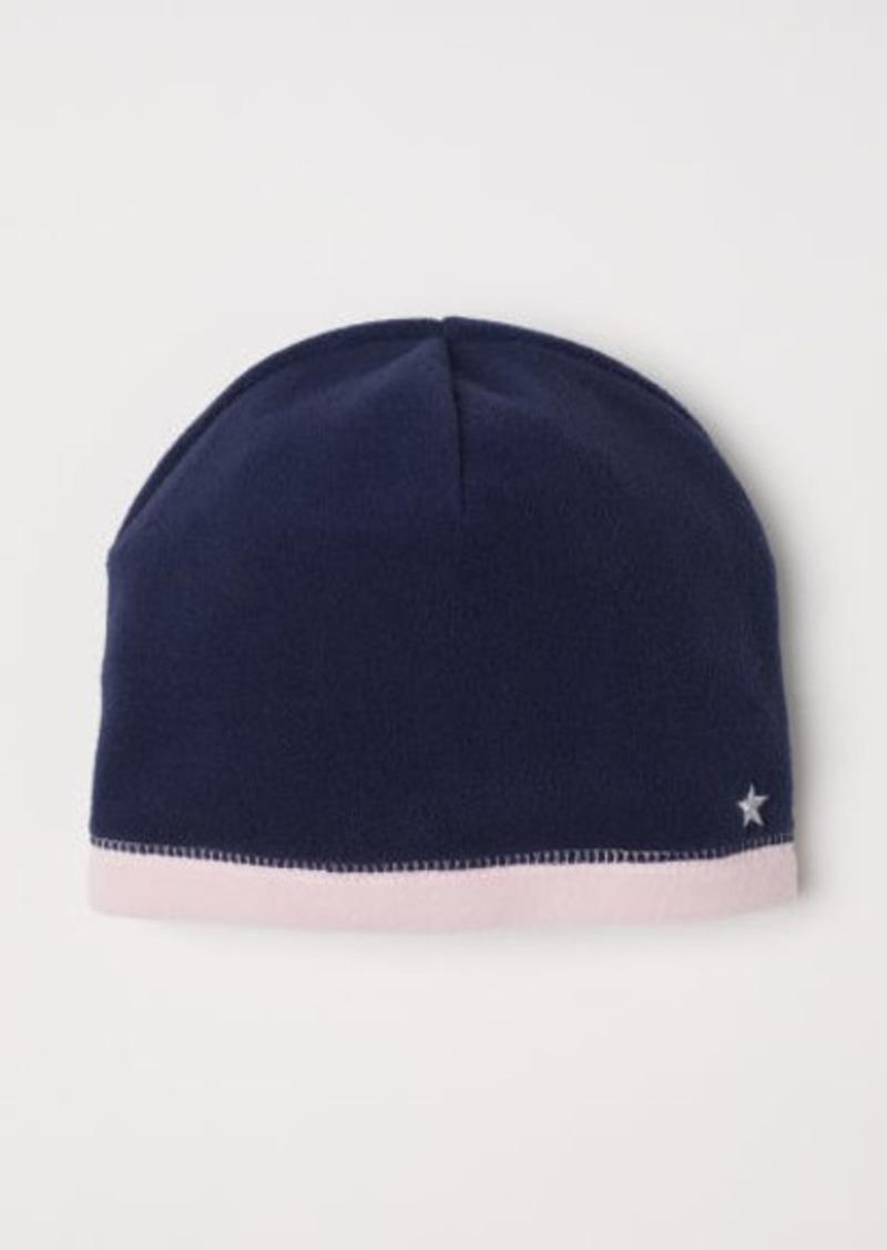 H&M H & M - Fleece Hat - Blue