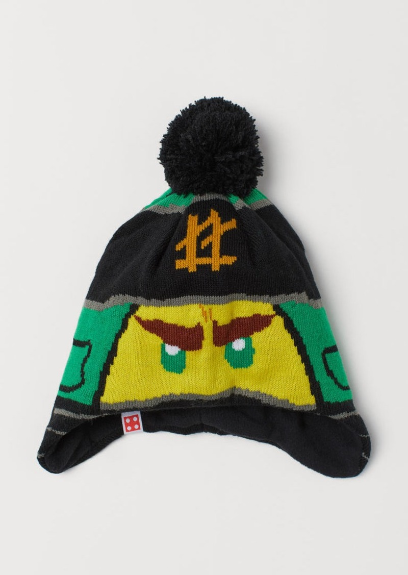 H&M H & M - Fleece-lined Hat - Green