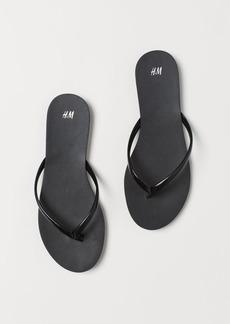 H&M H & M - Flip-flops - Black