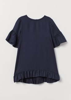 H&M H & M - Flounced Dress - Blue