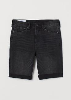 H&M H & M - Freefit® Slim Shorts - Black