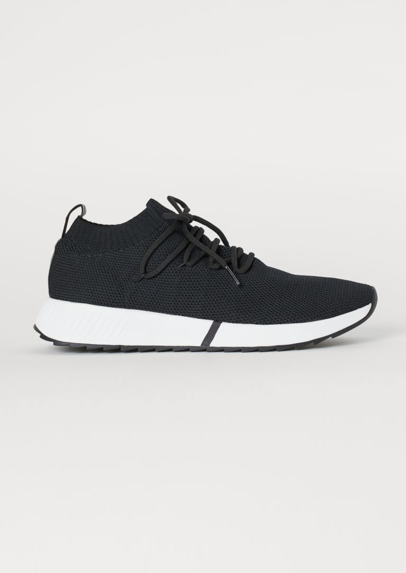 H&M H & M - Fully-fashioned Sneakers - Black