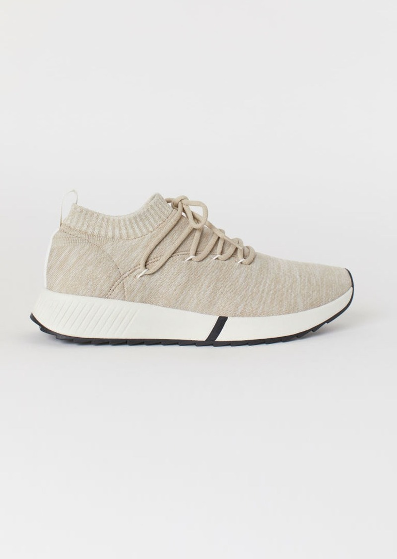 H&M H & M - Fully-fashioned Sneakers - Brown