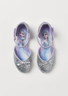 H&M H & M - Glittery Shoes - Silver