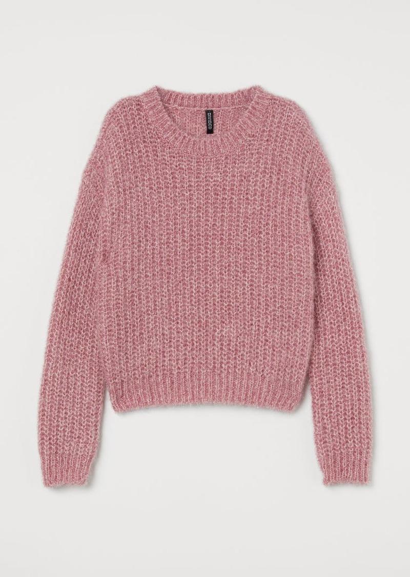 H&M H & M - Glittery Sweater - Pink