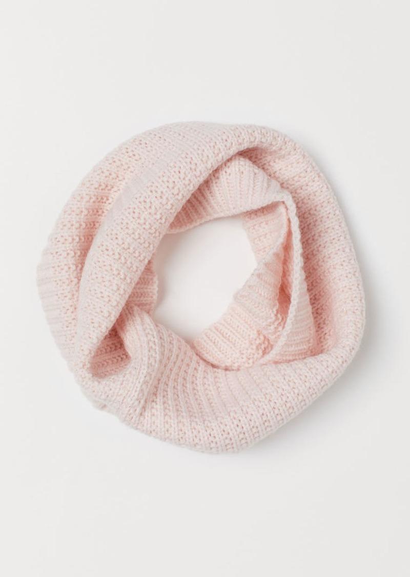 H&M H & M - Glittery Tube Scarf - Pink