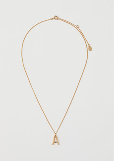 H&M H & M - Gold-plated Pendant Necklace - Gold