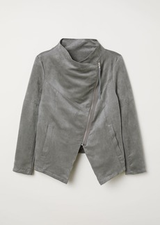 H&M H & M - H & M+ Biker Jacket - Gray