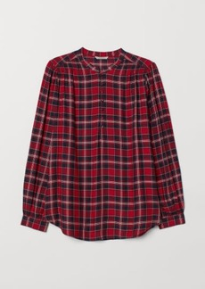 H&M H & M - H & M+ Blouse with Buttons - Red