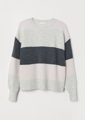 H&M H & M - H & M+ Fine-knit Sweater - Pink