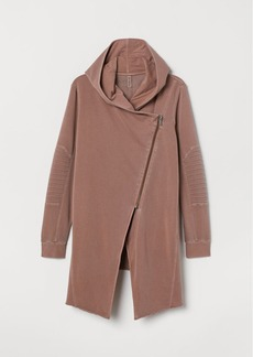 H&M H & M - H & M+ Hooded Cardigan - Pink