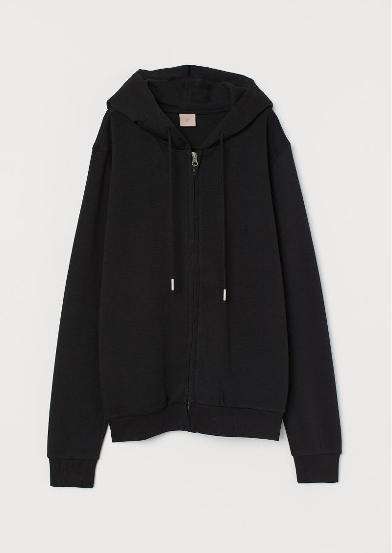 H&M H & M - H & M+ Hooded Jacket - Black