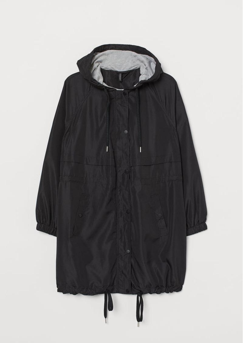 H&M H & M - H & M+ Hooded Parka - Black