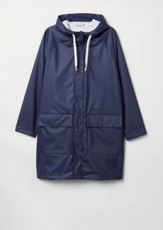 H&M H & M - H & M+ Hooded Rain Jacket - Blue