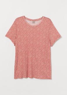 H&M H & M - H & M+ Jersey Top - Orange