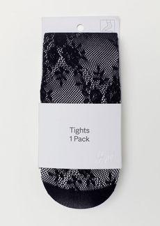 H&M H & M - H & M+ Lace Tights - Black