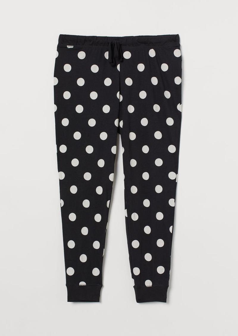 H&M H & M - H & M+ Pajama Pants - Black