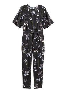 H&M H & M - H & M+ Patterned Jumpsuit - Black