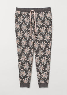 H&M H & M - H & M+ Patterned Pajama Pants - Gray