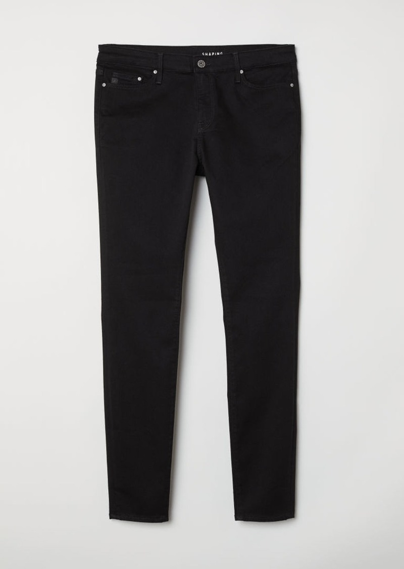 H&M H & M - H & M+ Shaping Skinny Jeans - Black