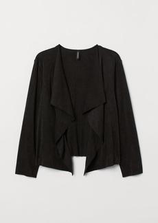 H&M H & M - H & M+ Shawl-collar Cardigan - Black