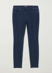 H&M H & M - H & M+ Skinny Fit Treggings - Blue