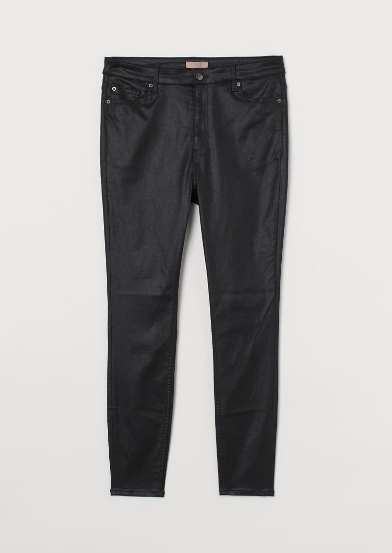H & M - H & M+ Skinny High Jeans - Black