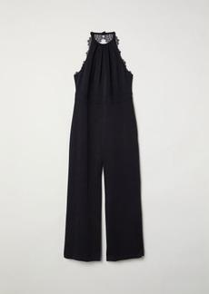 H&M H & M - H & M+ Sleeveless Jumpsuit - Black