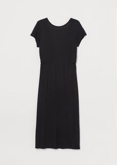 H&M H & M - H & M+ V-back Dress - Black