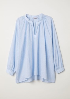 H&M H & M - H & M+ Wide-cut Blouse - Blue