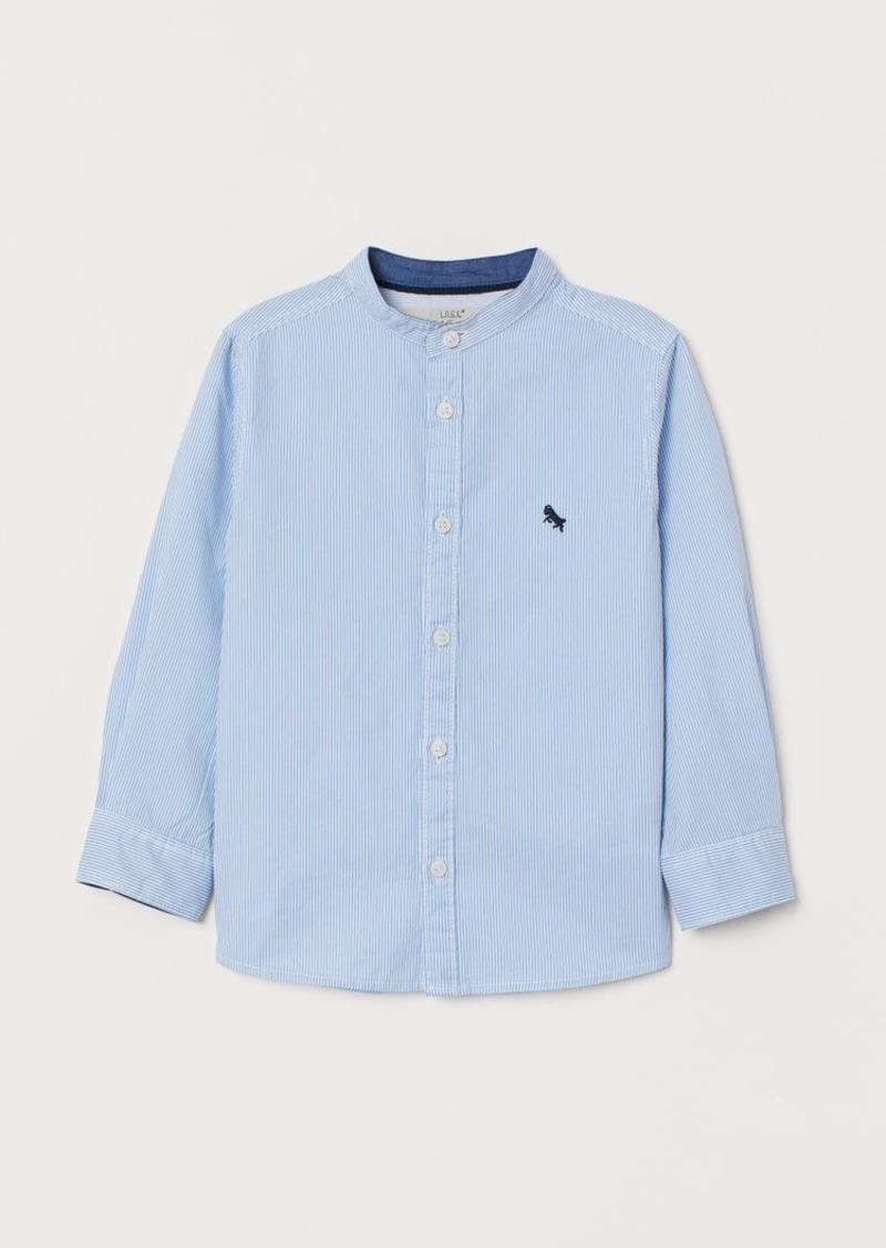 H&M H & M - Henley Shirt - Blue