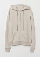 H&M H & M - Hooded Jacket - Beige