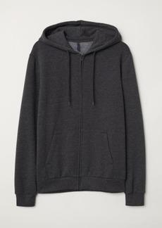 H&M H & M - Hooded Jacket - Black